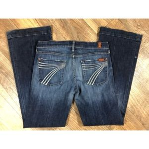 7 for all mankind DOJO jeans size 29 flare